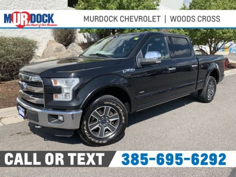 Pre-Owned 2015 Ford F-150 Lariat 4WD 4D SuperCrew