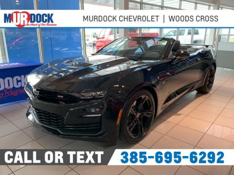 New 2020 Chevrolet Camaro SS RWD 2D Convertible
